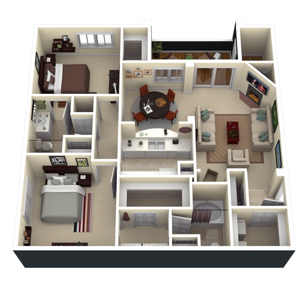 8x10 master baths best layout room