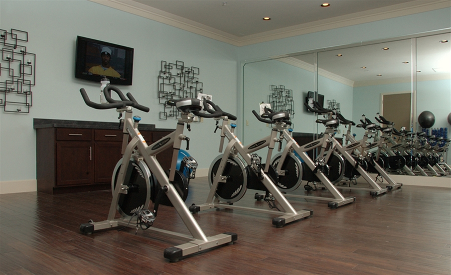 24 Hour Fitness Center and Spin Room